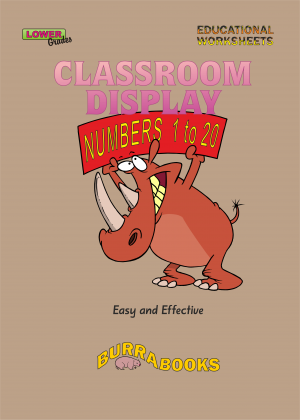 Classroom Display - Numbers 1 to 20