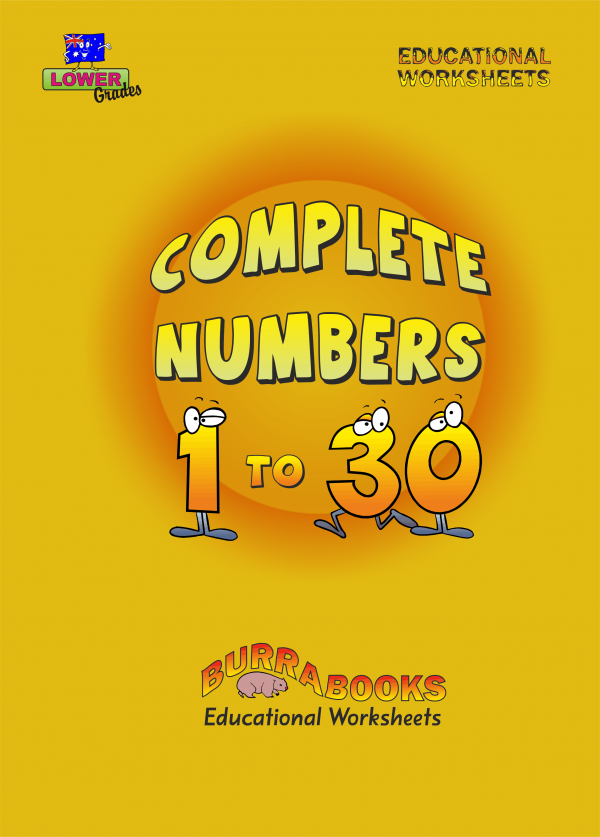 Complete Numbers 1 to 30-41522