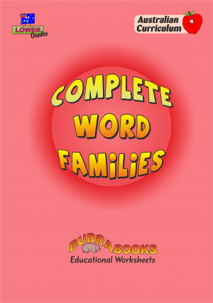 Complete Word Families-41525