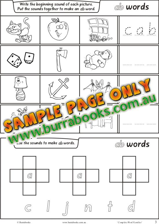 Complete Word Families