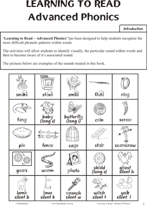Learning to Read – Advanced Phonics