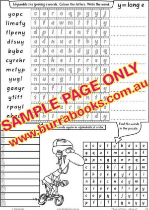 Phonics Puzzles – Advanced