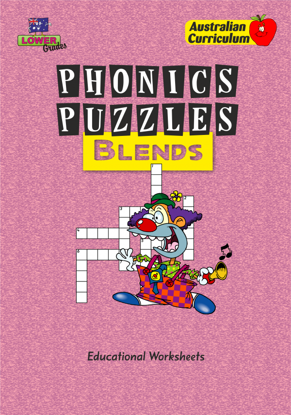Phonics Puzzles - Blends-41543