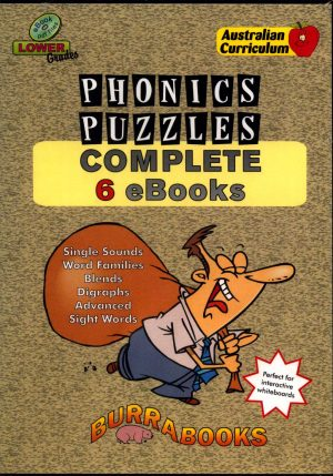 Phonics Puzzles - Complete 6 Books - Book on CD-42020