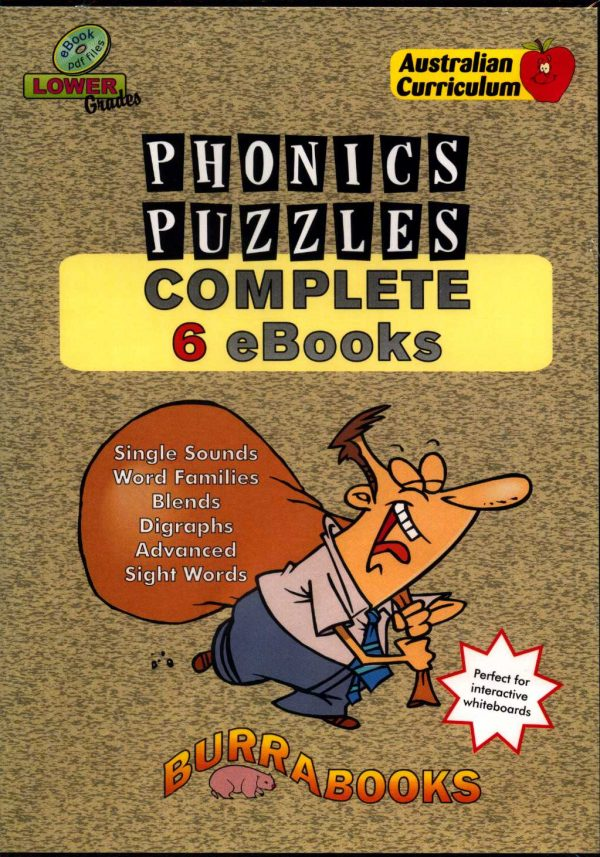 Phonics Puzzles - Complete 6 Books - Book on CD-0