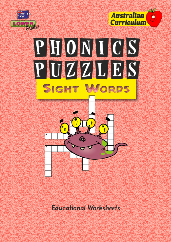 Phonics Puzzles - Sight Words-41541