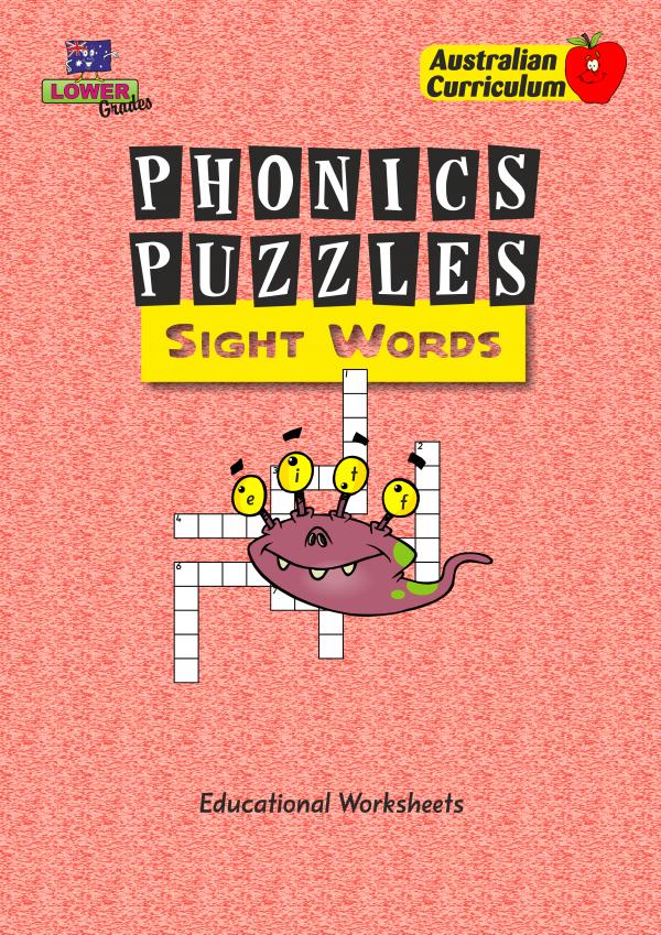 Phonics Puzzles - Sight Words-41541