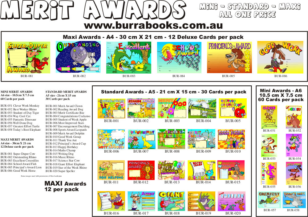 Merit Card Range