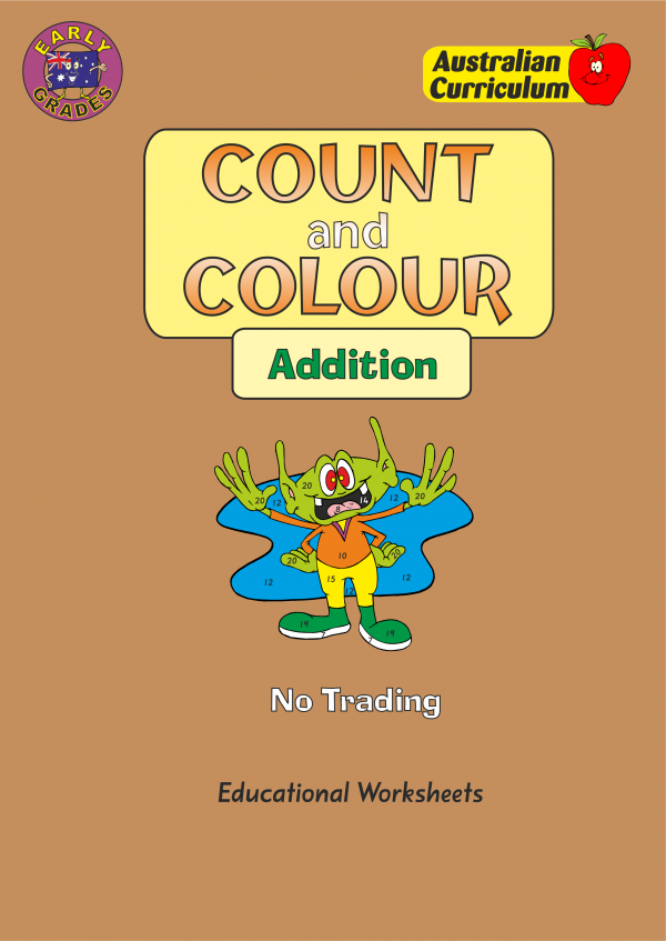 Count and Colour - Addition-0