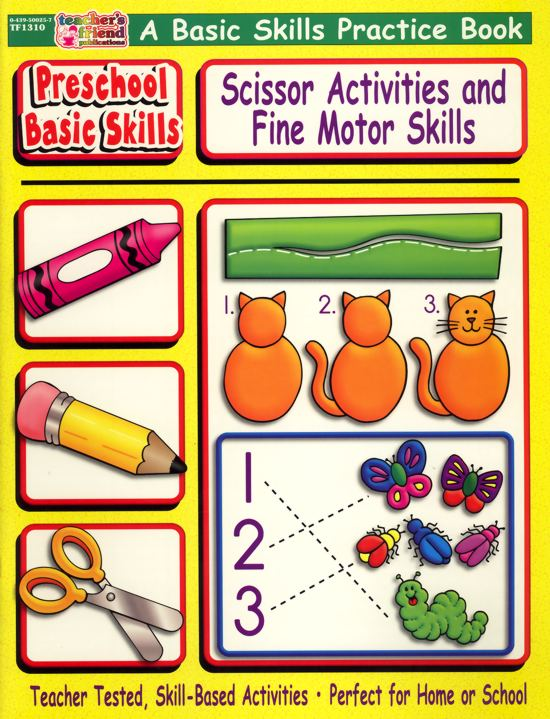 Preschool Basic Skills - Scissors and Fine Motor-0