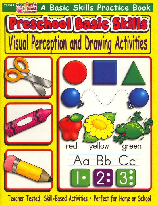 Preschool Basic Skills - Visual Perception and Drawing-0