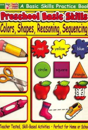 Preschool Basic Skills - Colours, Shapes, Reasoning-0
