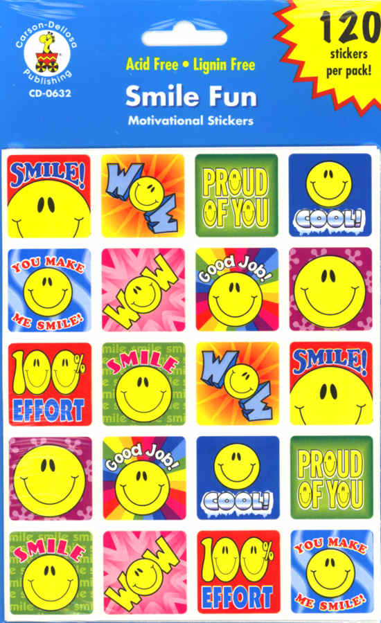 Smile Fun - Motivational Stickers-0