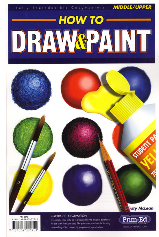 How to Draw & Paint-0