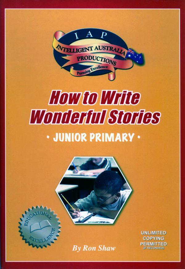 How to Write Wonderful Stories - Jurnior Primary-0