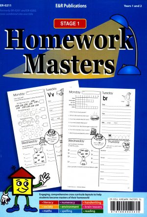 Homework Masters-Stage 1 Years 1 / 2-0