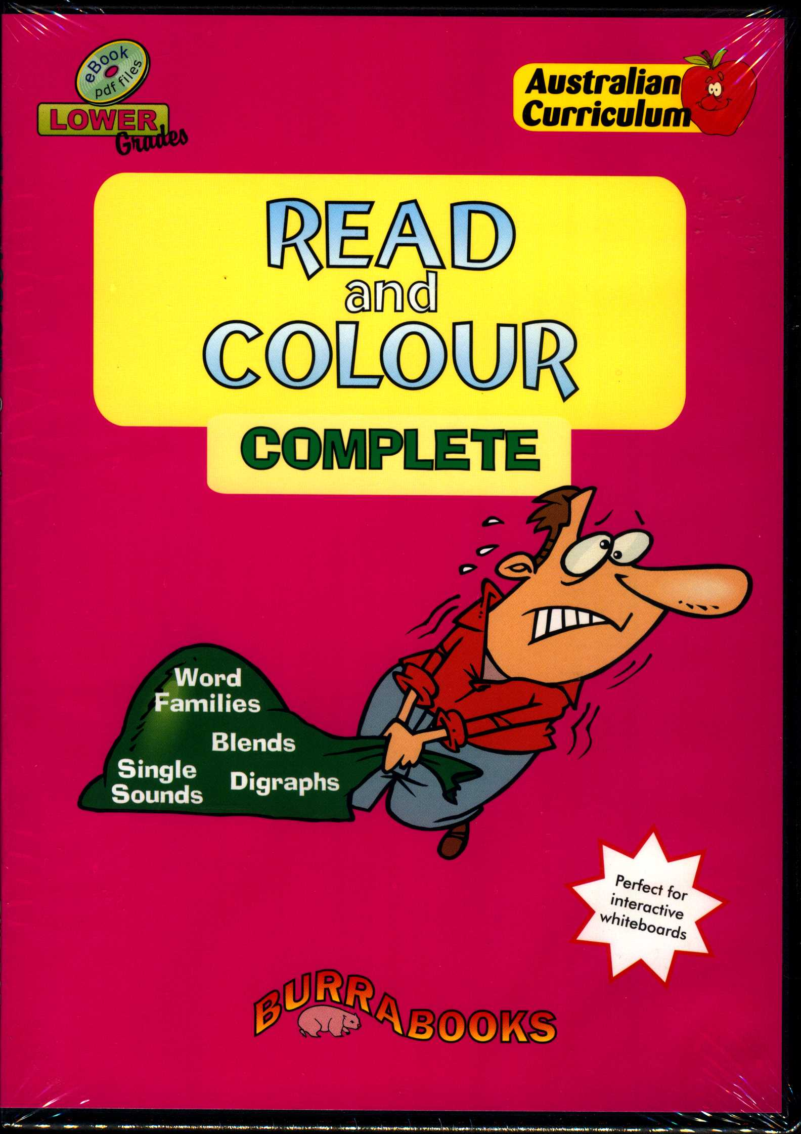 Read and Colour - Complete - Book on CD-0