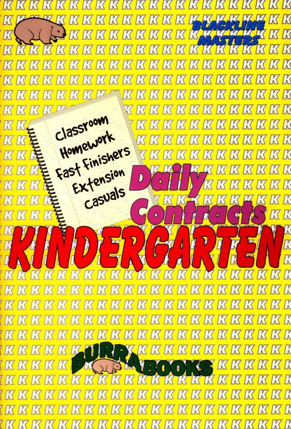Daily Contracts - Kindergarten-0