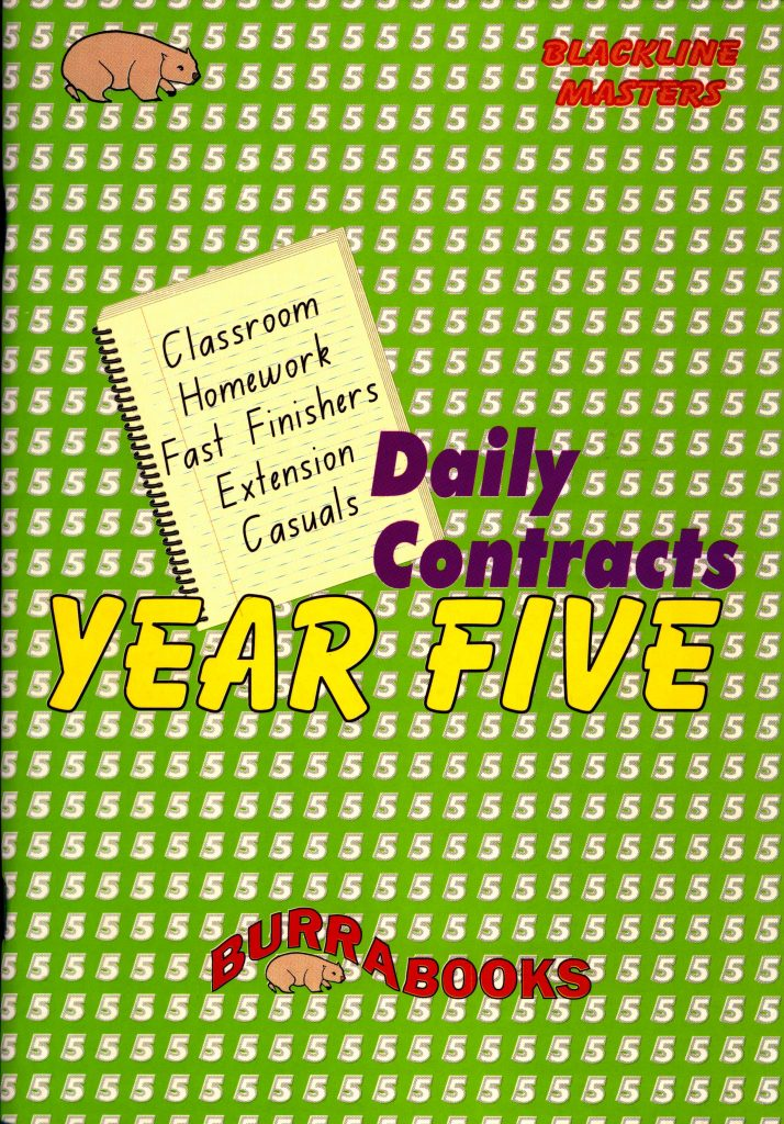 Daily Contracts - Year Five -0