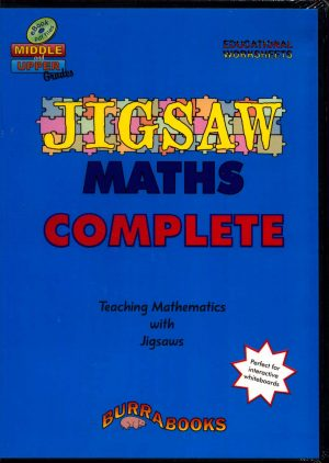 Jigsaw Maths Complete - Book on CD-42041