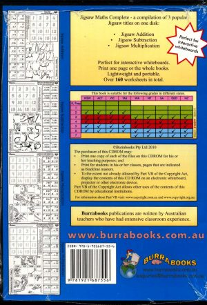 Jigsaw Maths Complete - Book on CD-42040