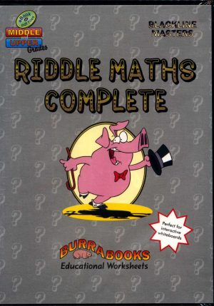Riddle Maths Complete - Book on CD-42042