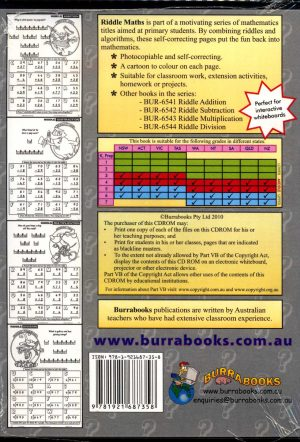 Riddle Maths Complete - Book on CD-42043