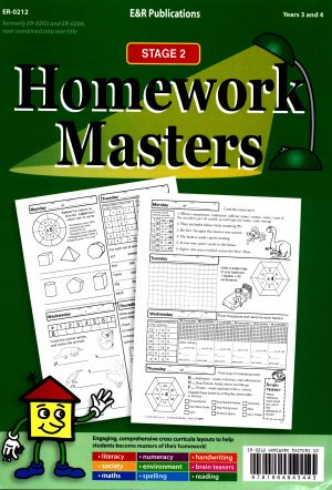 Homework Masters - Stage 2 Years 3 and 4-41599