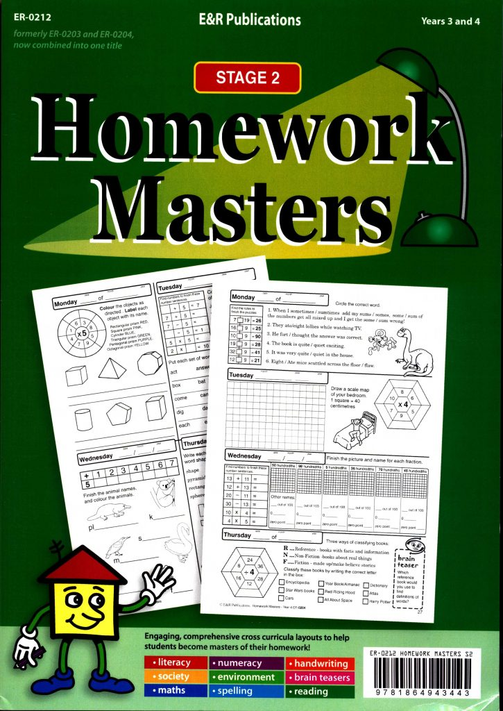 Homework Masters - Stage 2 Years 3 and 4-0