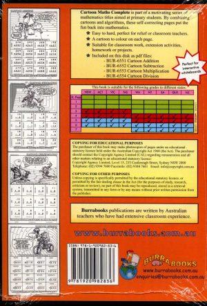 Cartoon Maths Complete - Book on CD-42045