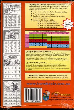 Cartoon Maths Complete - Book on CD-42045