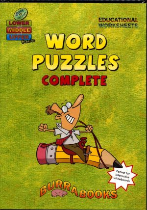 Word Puzzles Complete - Book on CD-42021