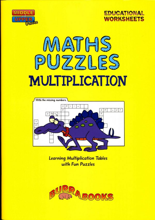 Maths Puzzles - Multiplication-41893