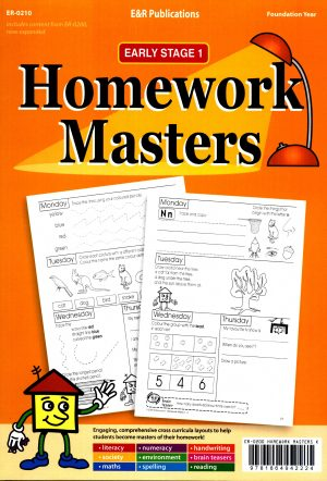 Homework Masters- Early Stage 1 Foundation Year-0