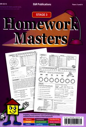 Homework Masters - Stage 3 Years 5 and 6-41604