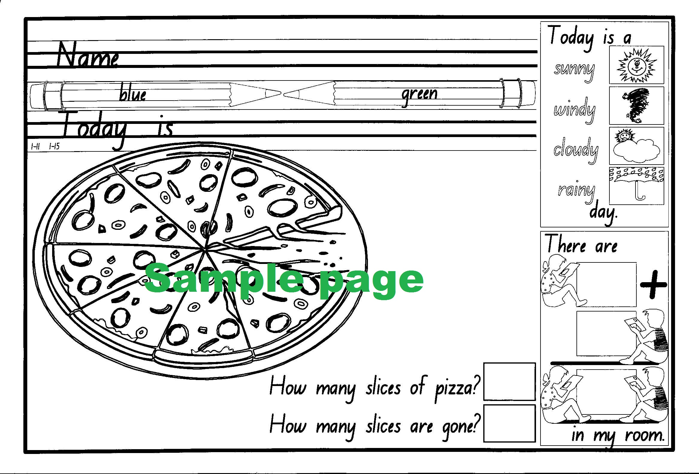 Daily Contracts - Kindergarten-41944