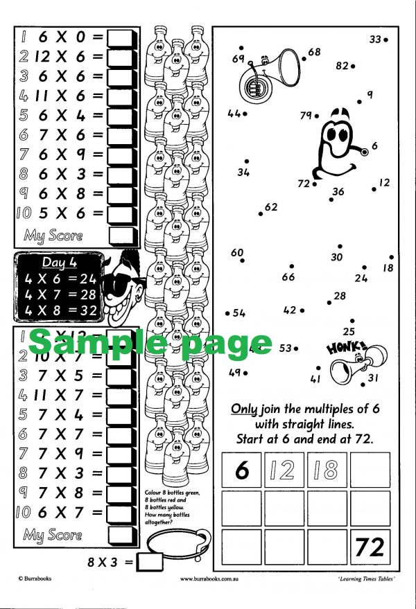 Learning Times Tables-41966