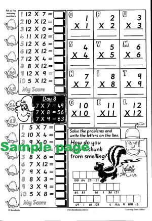 Learning Times Tables-41967