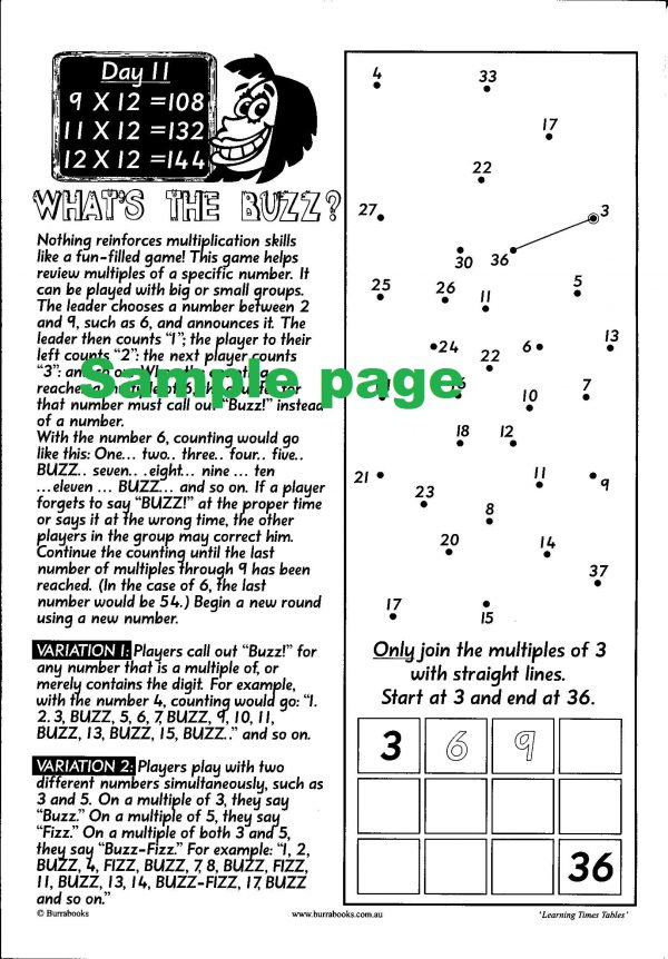 Learning Times Tables-41964