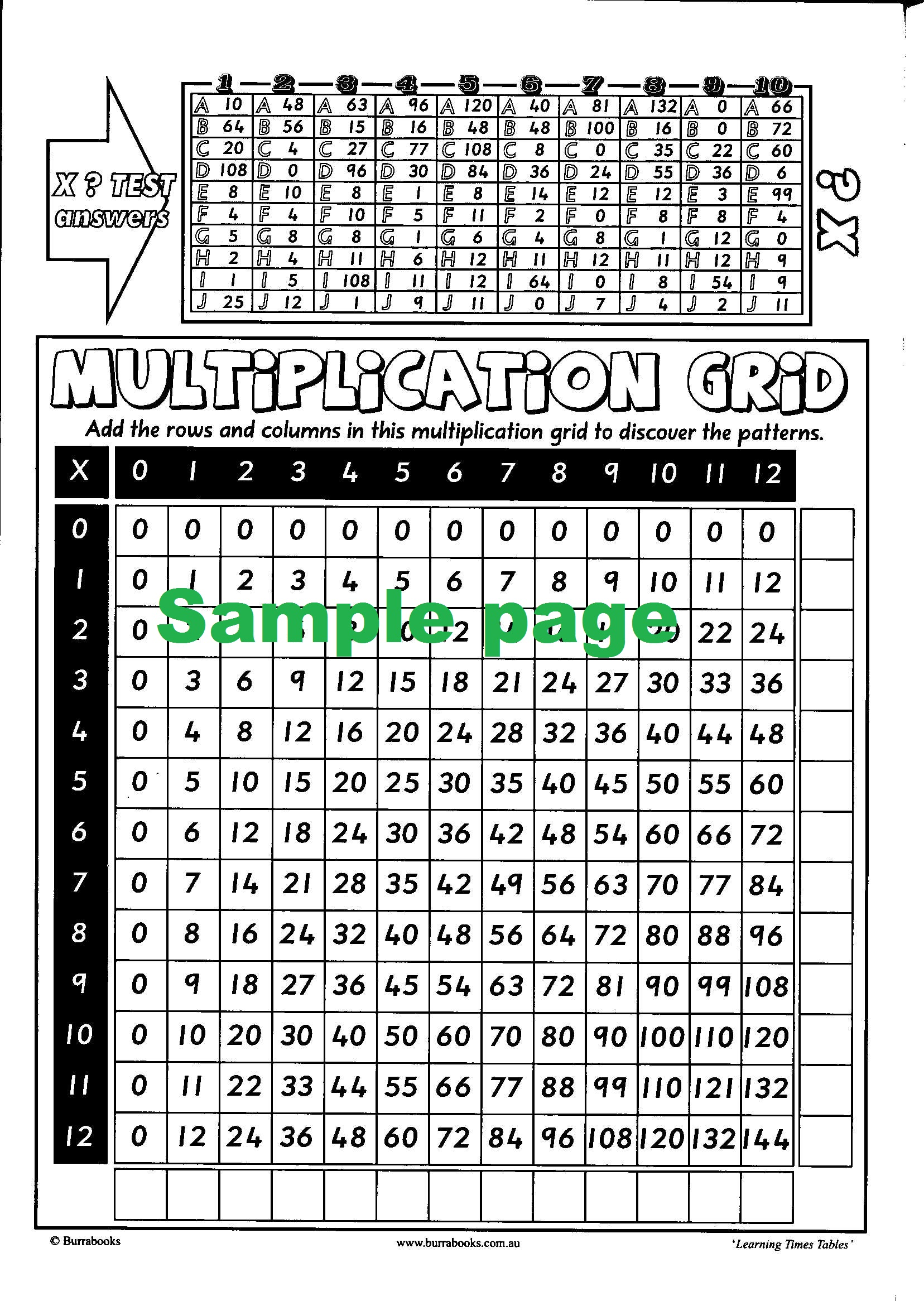 Learning Times Tables-41973