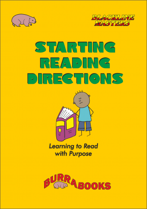 Starting Reading Directions-41553