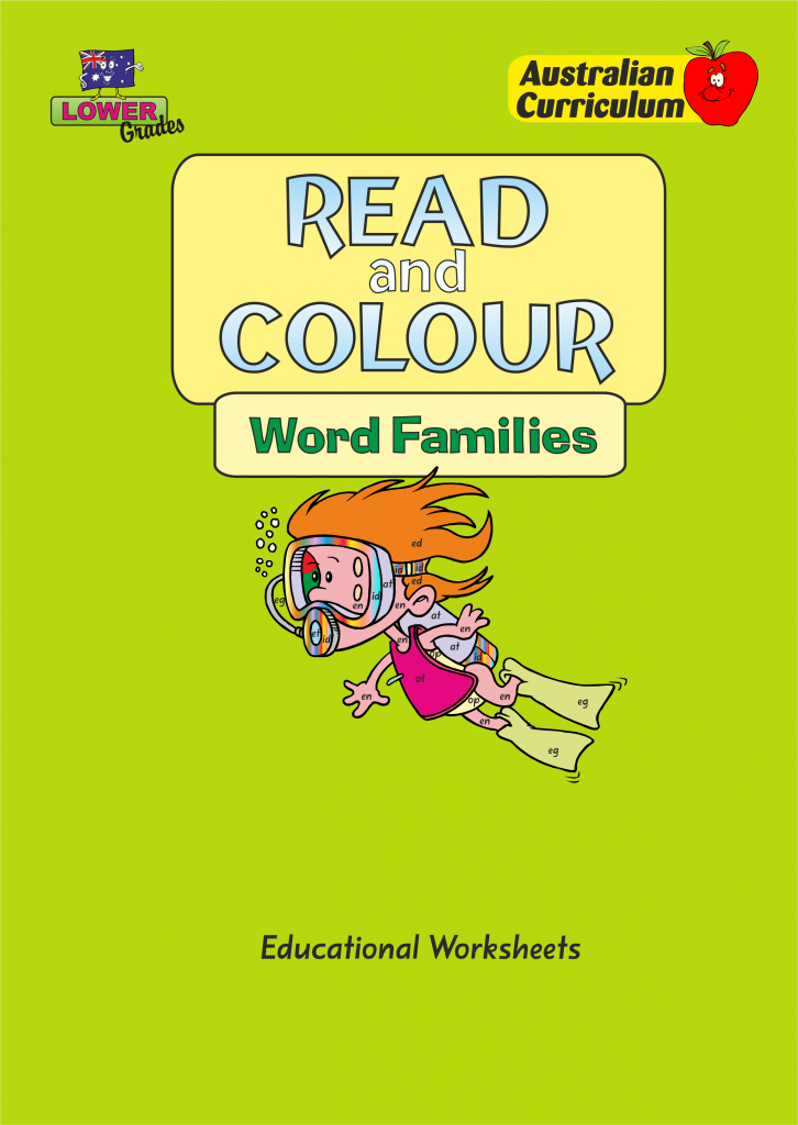 Read and Colour – Word Families