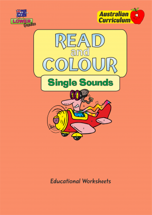 Read and Colour - Single Sounds