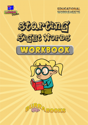 Starting Sight Words - Workbook-41555