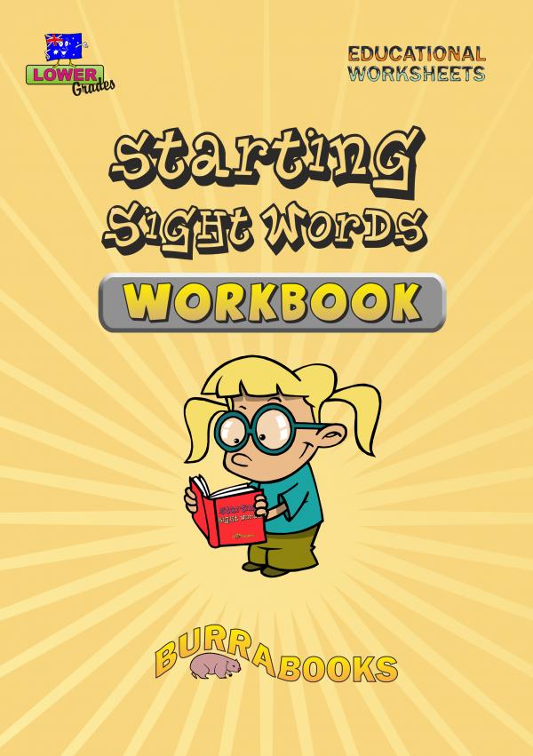 Starting Sight Words - Workbook