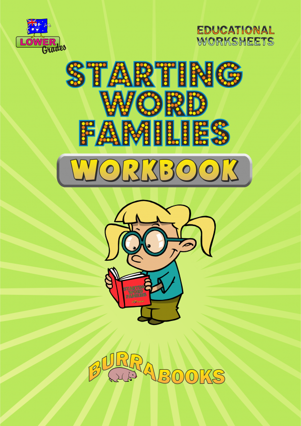 Starting Word Families – Workbook