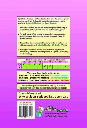 Synthetic Phonics – 100 Basic Readers