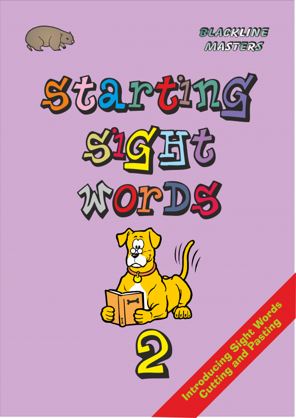Starting Sight Words-Book Two-0