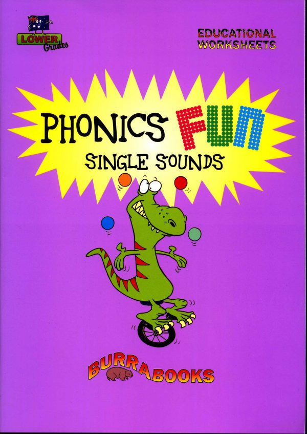 Phonics Fun- Single Sounds-41732