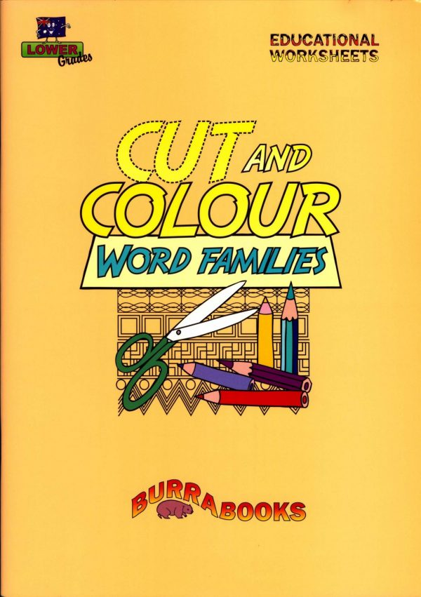 Cut and Colour- Word Families